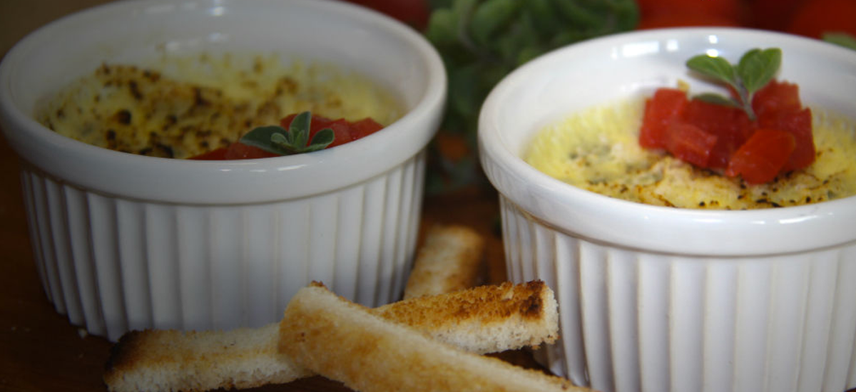 Crème brulée al gorgonzola - Ma Cuisine Royale
