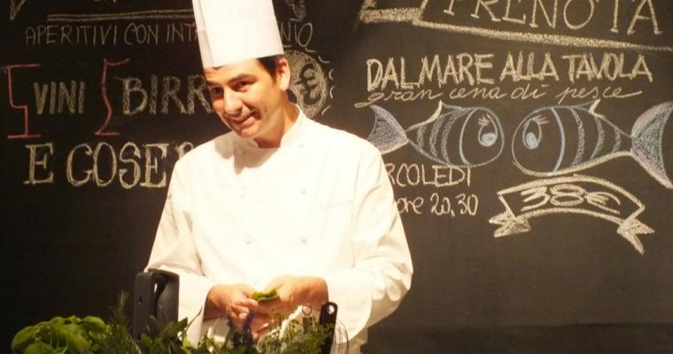 Una serata con lo Chef Sergio Barzetti