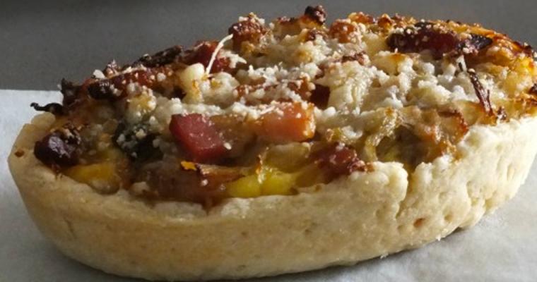 "Tartelettes ""Chicon"" con crema pasticciera al Parmigiano Reggiano"