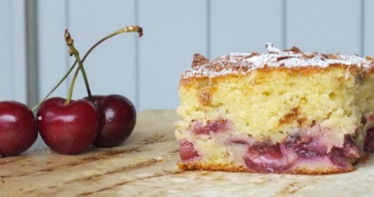 Torta Morbida alle Ciliegie e versione al Cioccolato