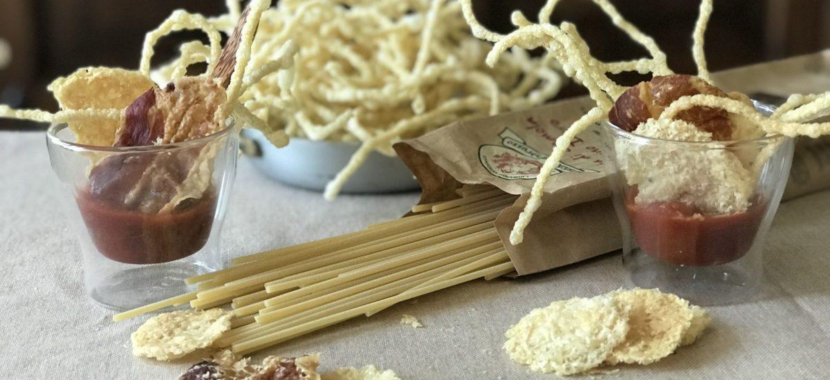 Spaghettoni Rustichella D'Abruzzo  à l' «Amatriciana»