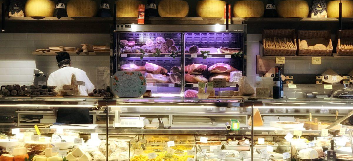 Rina Poletti à la Bottega Gastronomica ( Milan )