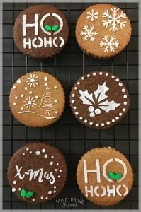 Biscotti speziati di Natale 06