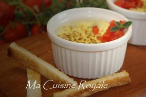 Crème brulée al gorgonzola