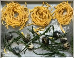 tagliatelle alle vongole salicornia 2