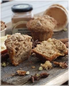2 muffin di mele