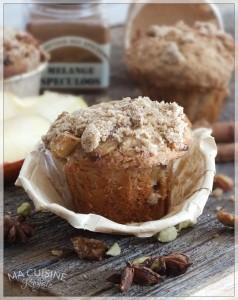 5 muffin di mele