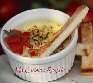 Crème Brulèe au gorgonzola - Ma Cuisine Royale