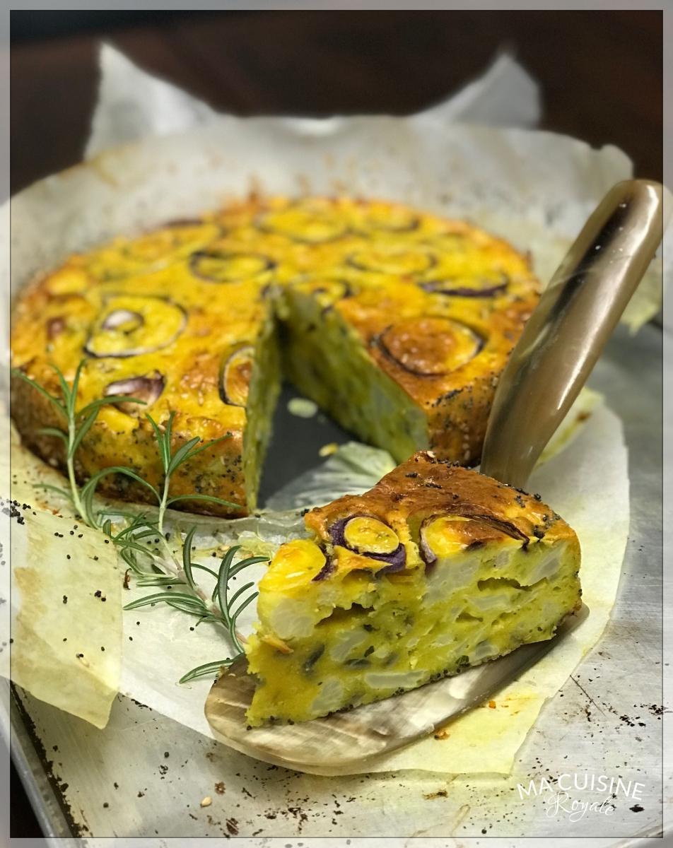 Tarte au chou fleur de yotam ottolenghi ma cuisine royale for Cuisine royale